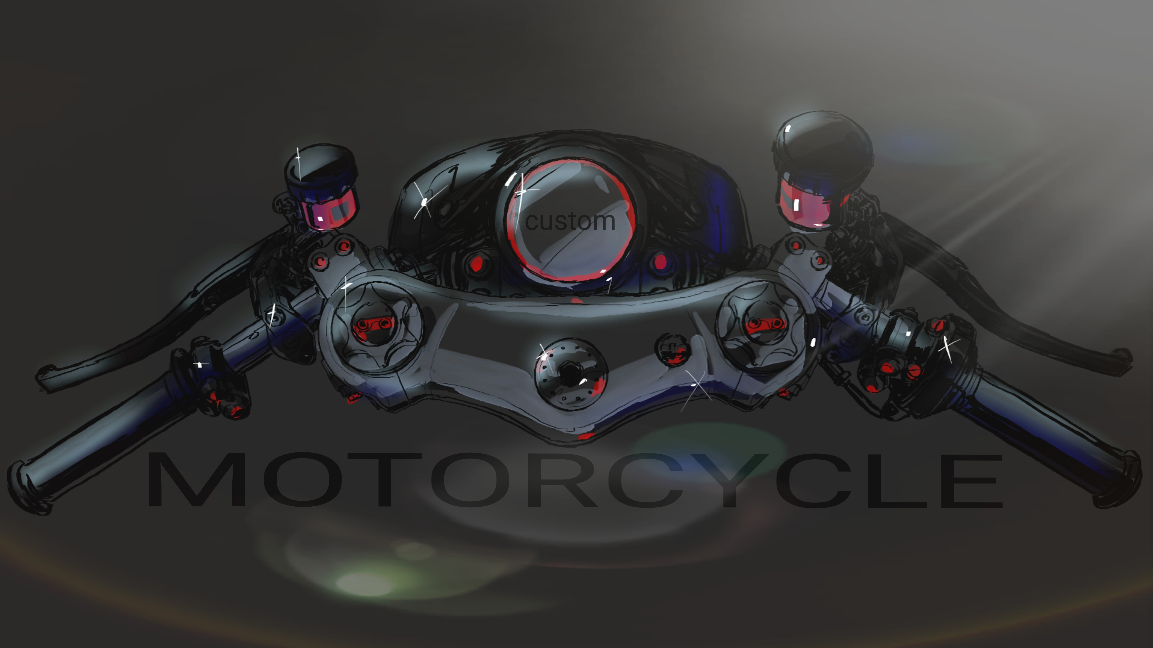 custom motorcycle handlebars