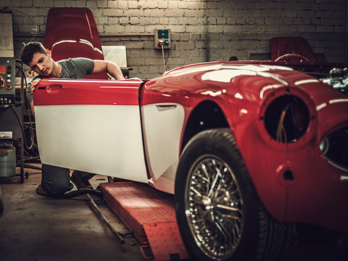 types of car restoration
