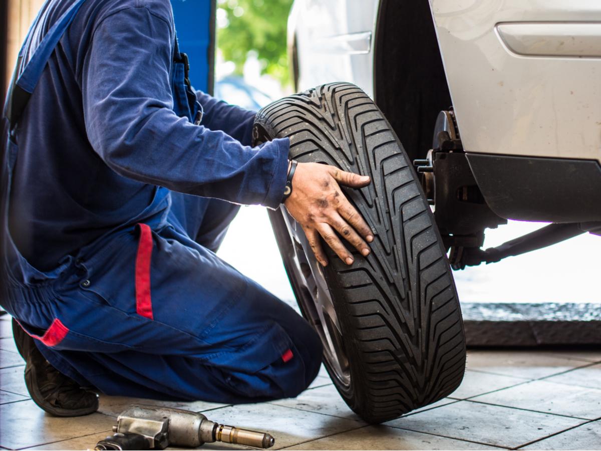 balance tires