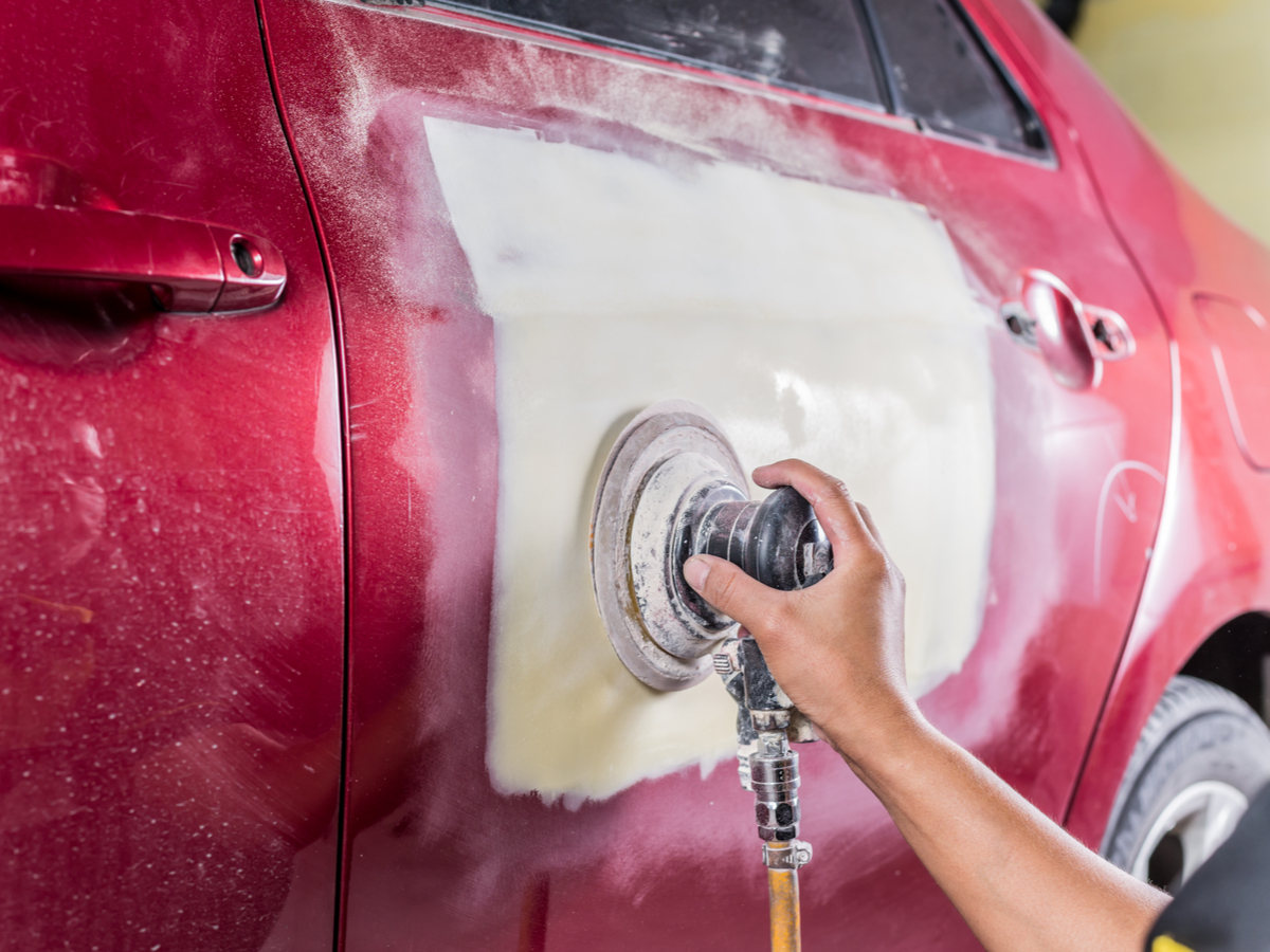 auto body repair at your home