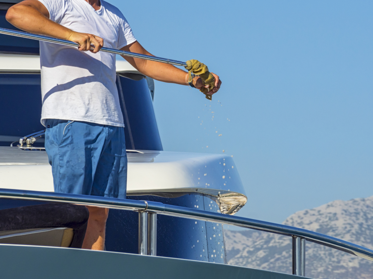 boat cleaning prices